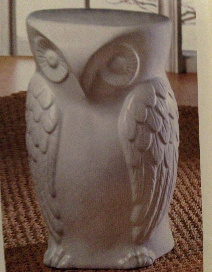 $129.95....Wise Owl Decorative Stool