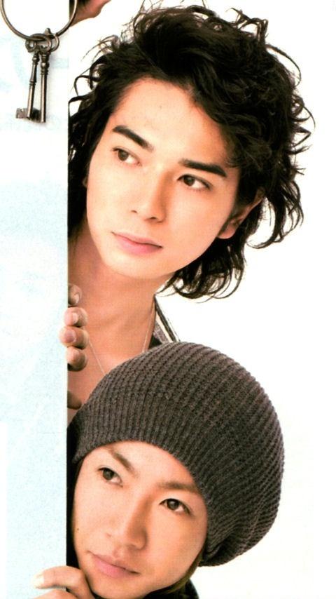 Jun and Aiba Masaki