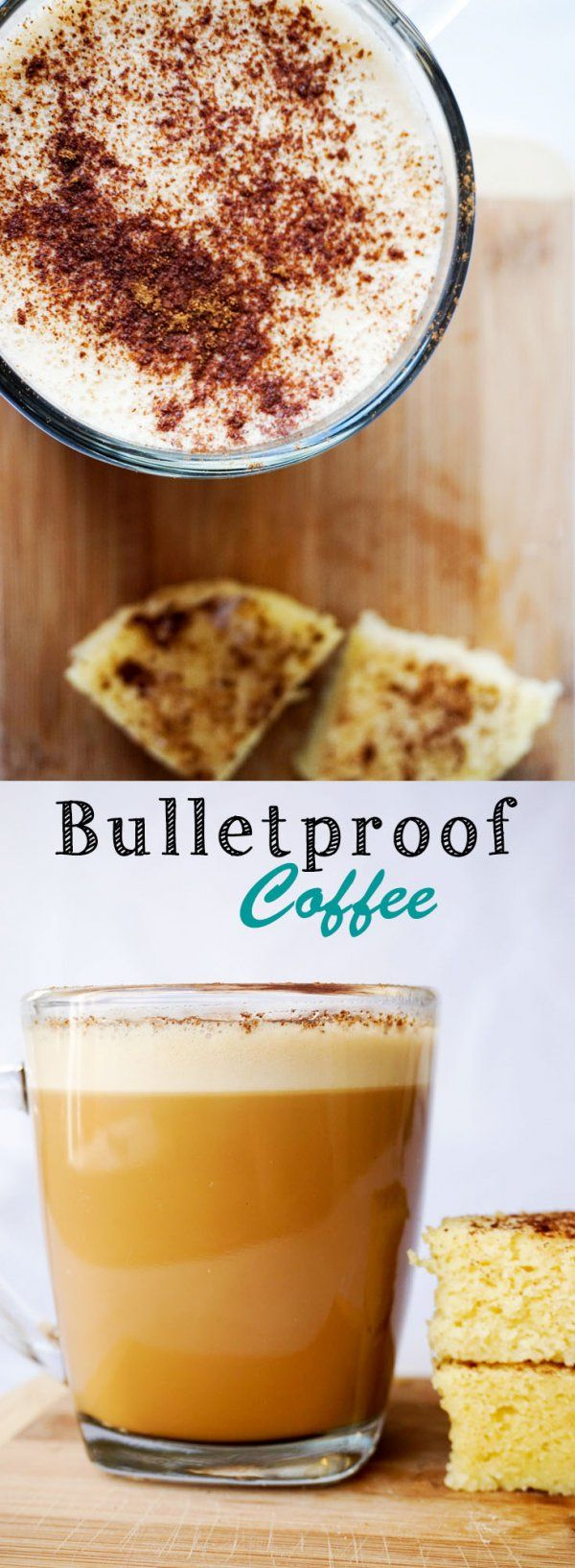 Bulletproof Coffee made fast and easy. The perfect start to a keto day!