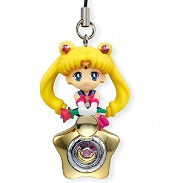This is a Bandai Sailor Moon Twinkle Dolly Volume 3 Sailor Moon Charm. Very cool and neat to see Sailor Moon characters in charm form! Good price too. Recommended Age: 4+ Condition: Brand New and Seal