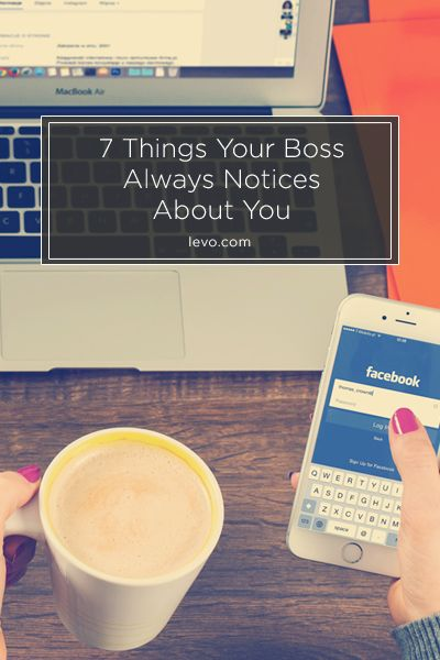 Maybe cutdown on facebook - www.levo.com | This only pertains if your boss is ACTUALLY IN the office.