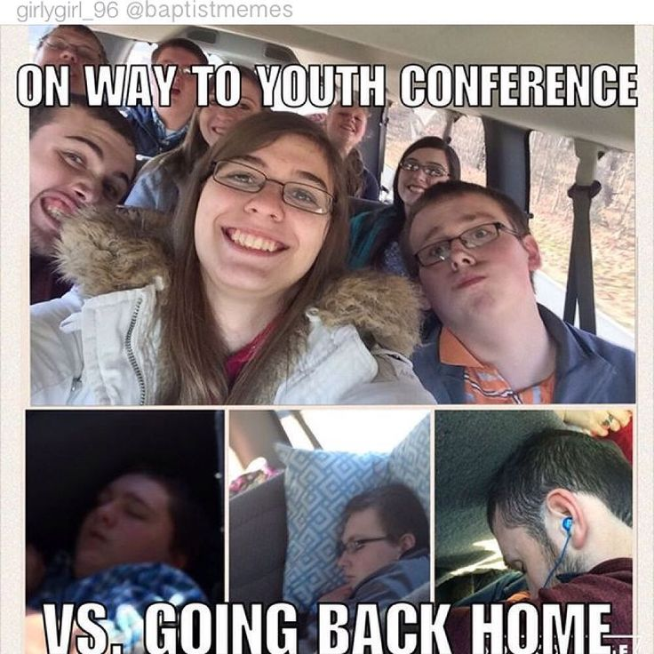 Also true of any SDA youth trip, whether it be camping or a youth rally.