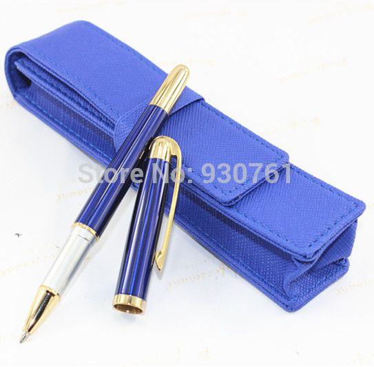 Jinhao 606 Синий цвета Бизнес-офис Гладкой Среднего ролика шариковая ручка Новый перо