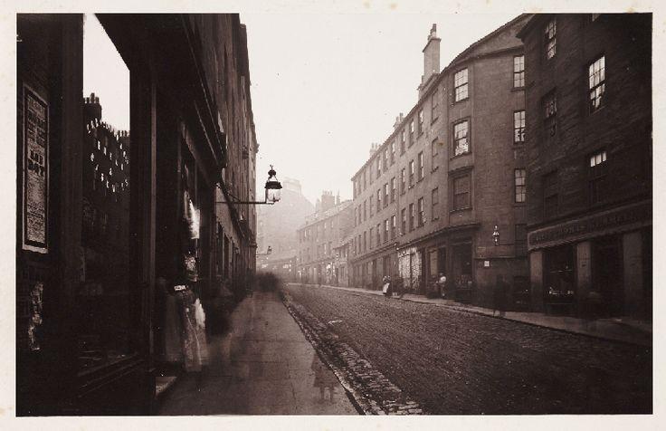 Head of High Street, Glasgow, 1868