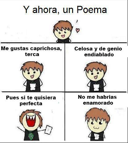 y ahora un poema #amor #love