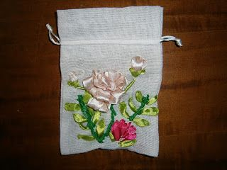 Lia B. Creations: Embossed roses