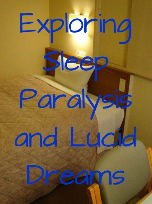 How to get into sleep paralysis and transition to a lucid dream. A WILD lucid dreaming method.
