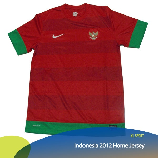 Siapa yang sudah punya jersey Timnas Indonesia yang baru?    *as posted on XL Rame