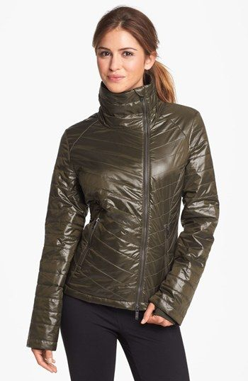 Zella 'Featherweight' Quilted Jacket available at #Nordstrom