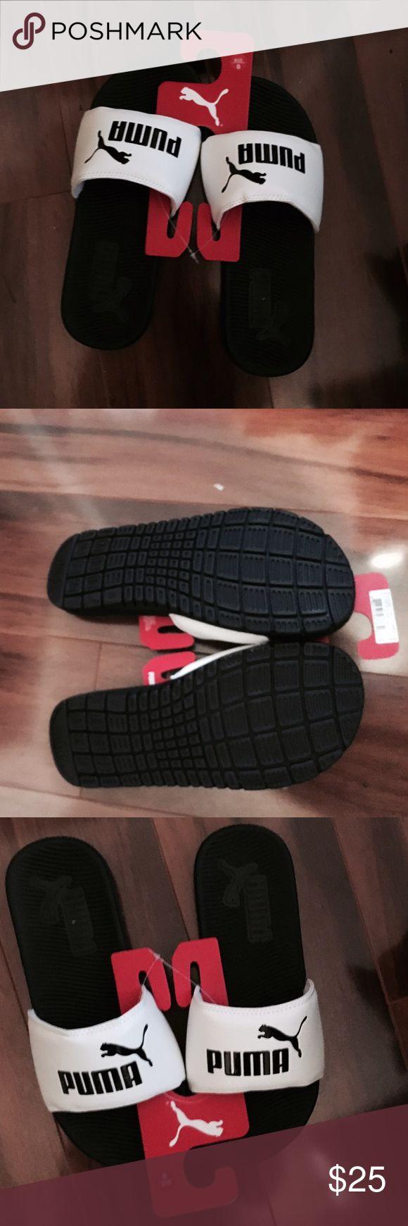 Puma Sides Size 8 NWT Ladies Puma Slides NWT Size 8 Puma Shoes Slippers