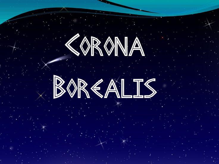 Corona Boreal by LenguasClásicas IEDA via slideshare