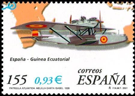 75 Aniv. primeros vuelos aviación española - 2001