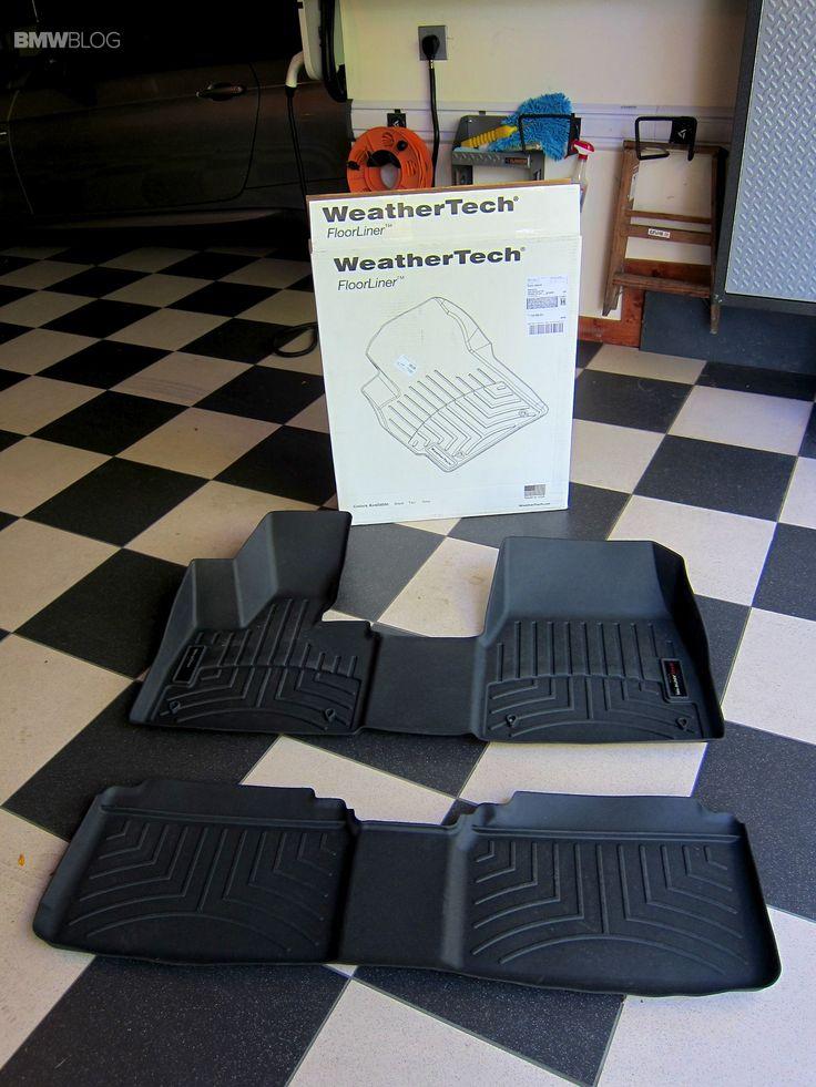 WeatherTech Floor Mats in a BMW i3 Floor mats, Bmw i3