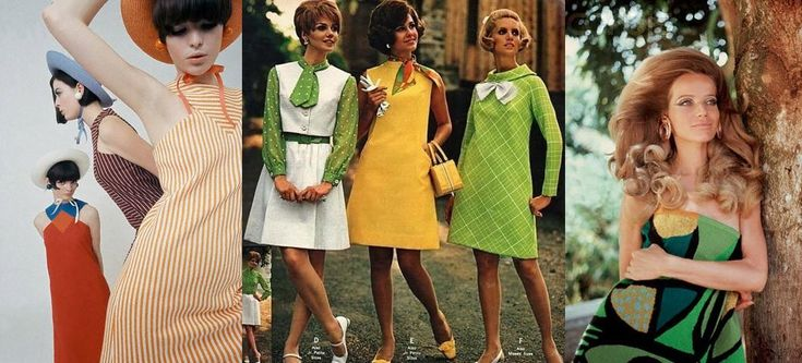 Мода  шестидесятых  XX века • НОВОСТИ В ФОТОГРАФИЯХ