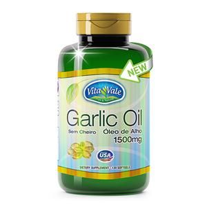GARLIC OIL 120 CÁPSULAS: VITAMINAS