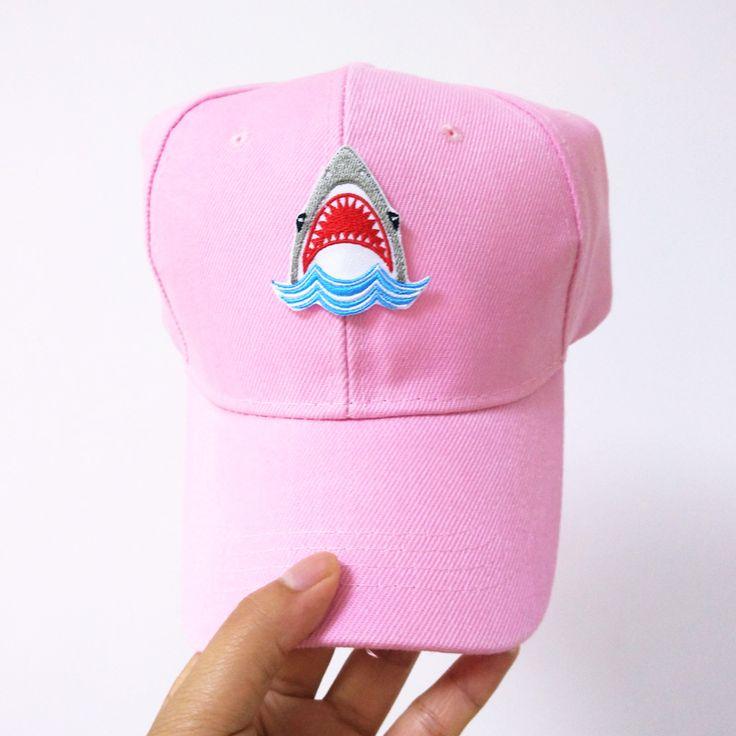 BIG SHARK BASEBALL CAP · FE CLOTHING · Online Store Powered by Storenvy
