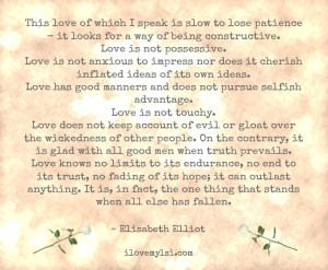 This love.   this link has 25 of the most romantic love quotes ever.... each one clutches at my heart.... they are beautiful!   (use for Valentines or Anniversary)