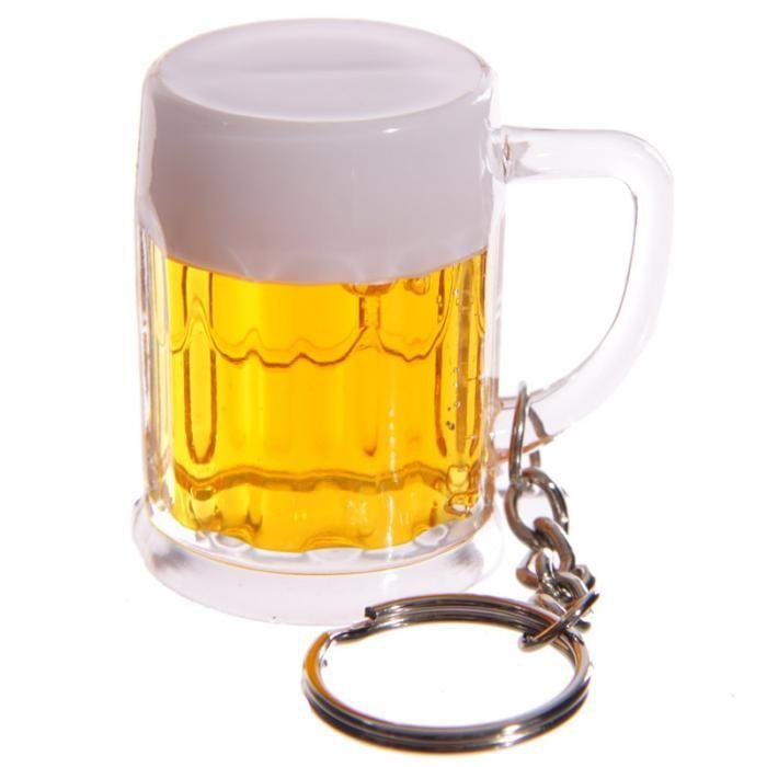 Klíčenka Pivní korbel - vtipný dárek #pronej #klicenka #keyring #giftsforhim
