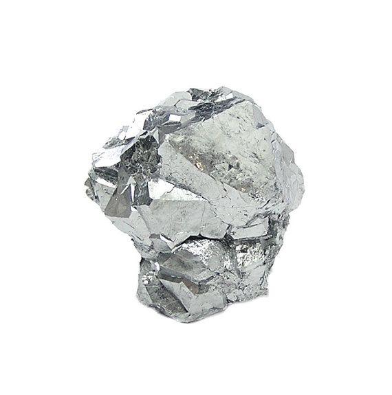 Skutterudite Rare Steel Gray Metallic Crystal by FenderMinerals
