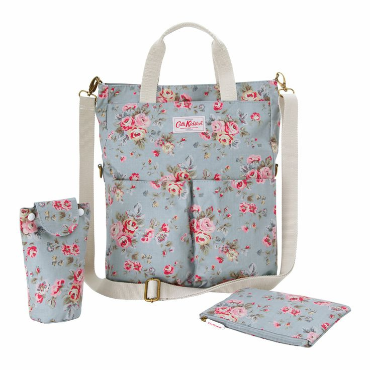 Changing Bags | Westbourne Rose Fold Over Tote Nappy Bag | CathKidston