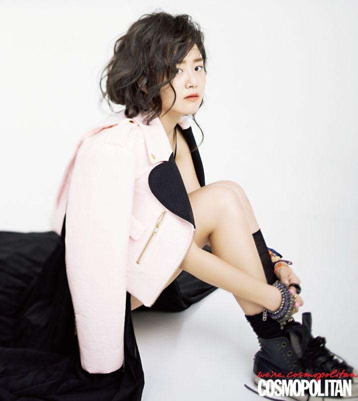 Moon Geun Young in Cosmopolitan Korea November 2012