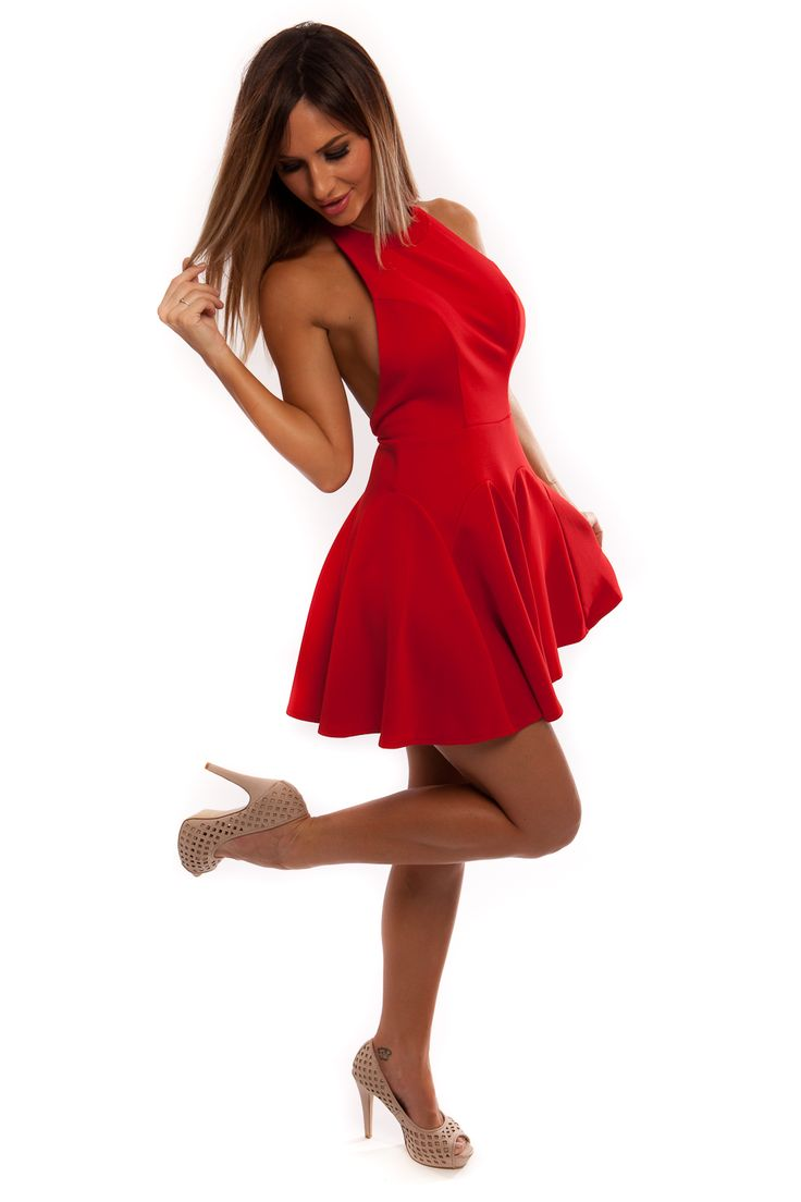 Hearts Desire Dress in Red available www.sasu.com.au $49.95