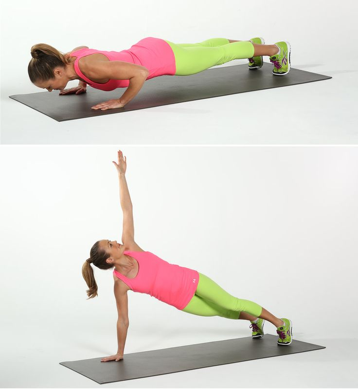 The Best No-Equipment Arm Exercises: We're rocking exposed shoulders all Summer long, but strong, sculpted arms are always in style!