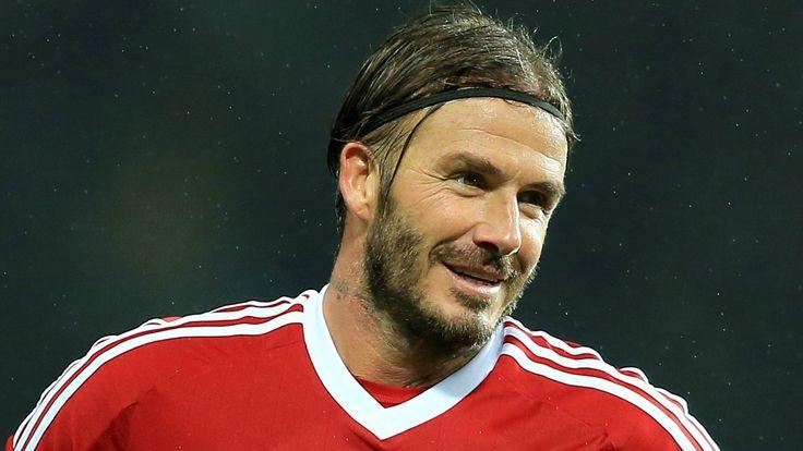 David shows he can still bend it like Beckham #News #Adidas #DavidBeckham #Football
