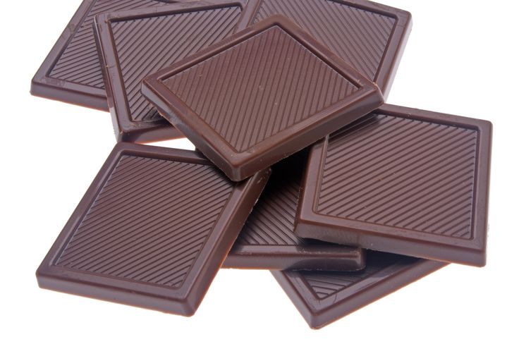 80% Dark #Chocolate - 20 Foods Filled With Iron