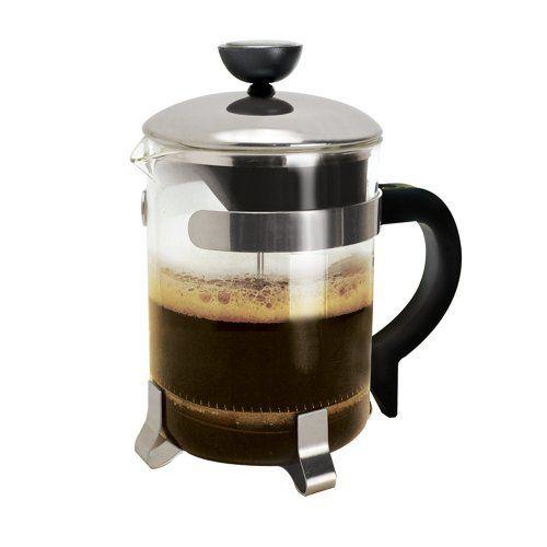 Primula 4 Cup Classic Coffee Press, Chrome - http://mygourmetgifts.com/primula-4-cup-classic-coffee-press-chrome/