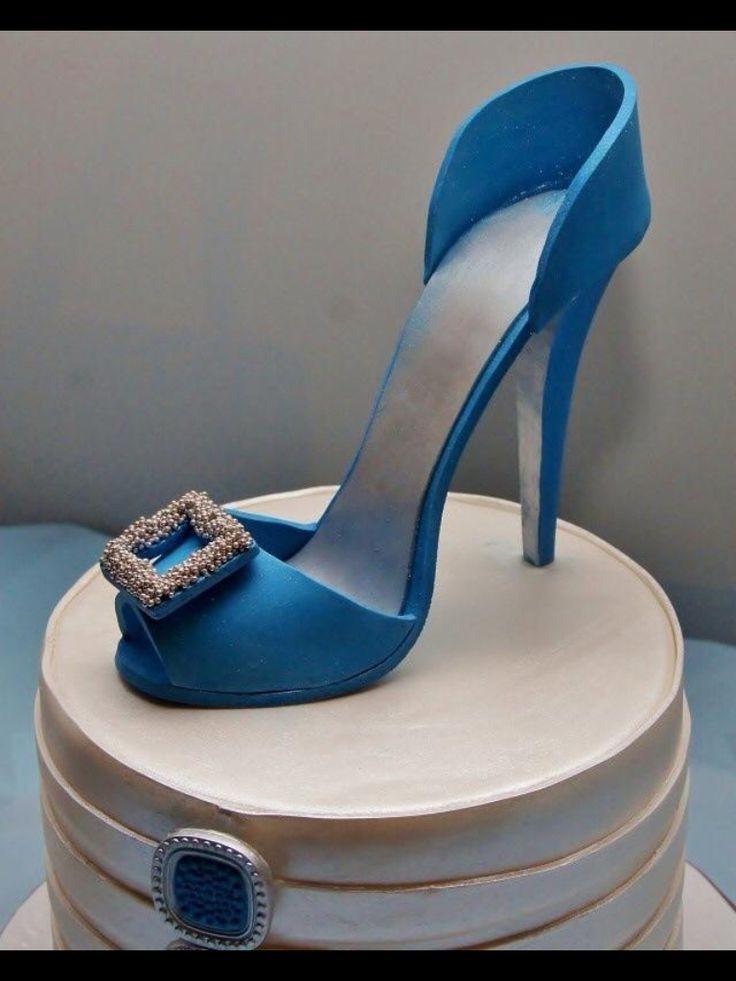 Shoe cake.