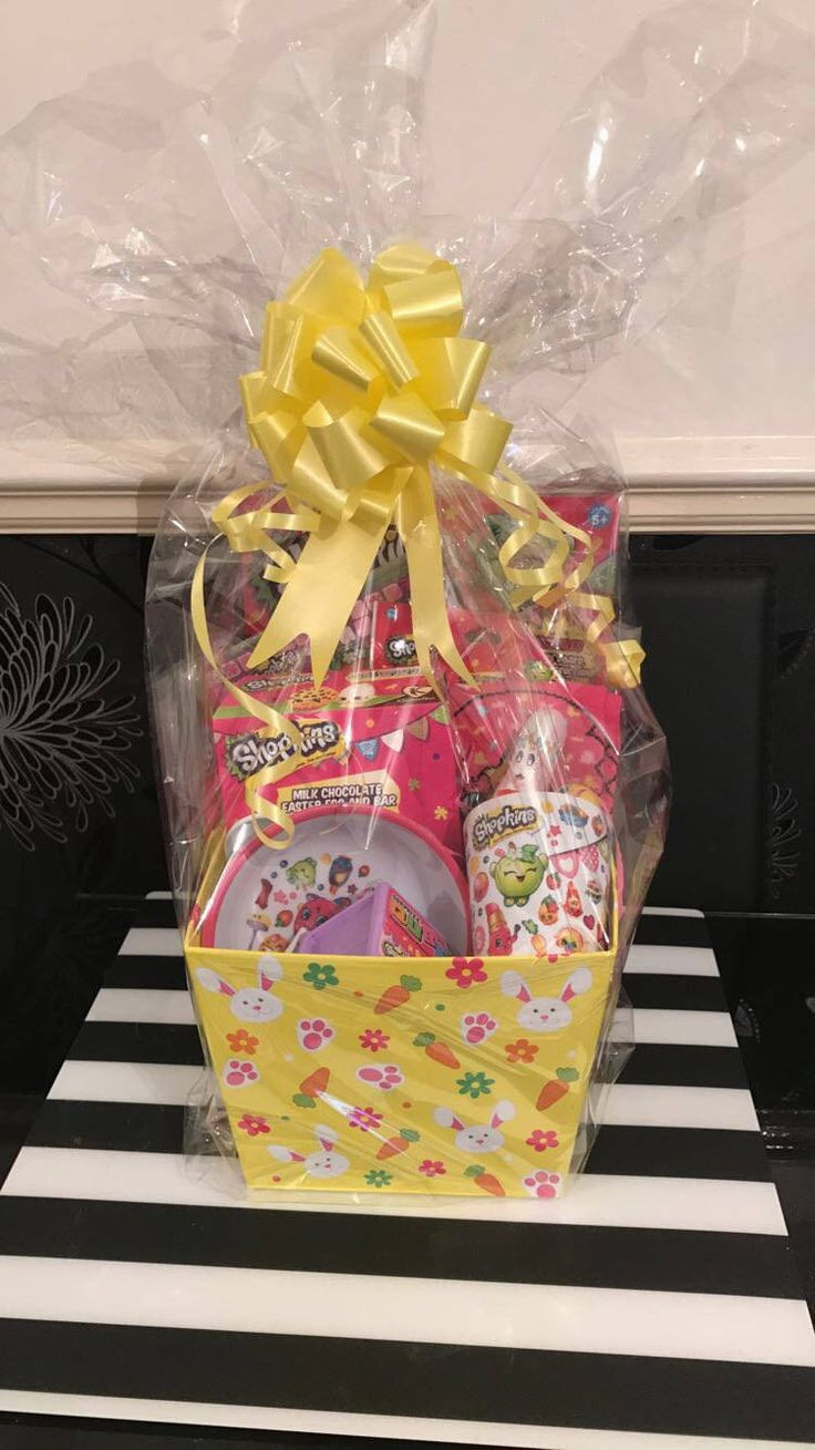 The 25 best easter hampers ideas on pinterest easter bonnets shopkins easter hamper by madebydaniellex on etsy negle Images