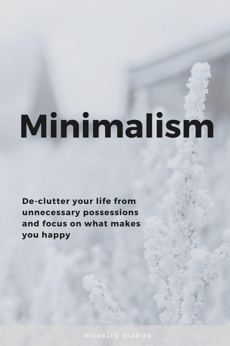 Minimalism - Michells Diaries