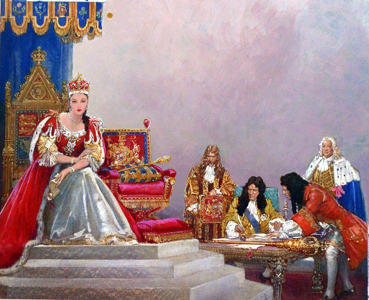 Queen Anne by John Millar Watt.
