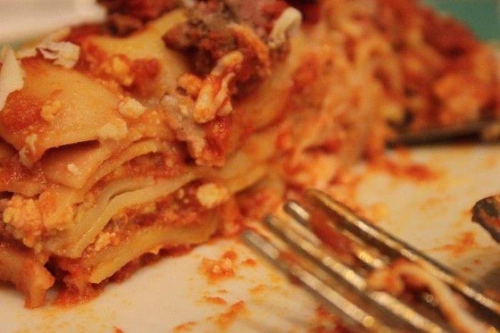 La lasagna napoletana di Carnevale