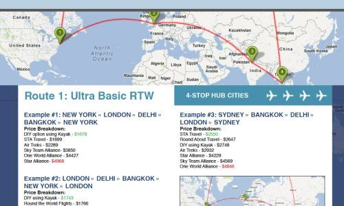 Study: Steer clear of airline alliances when booking round-the-world flights