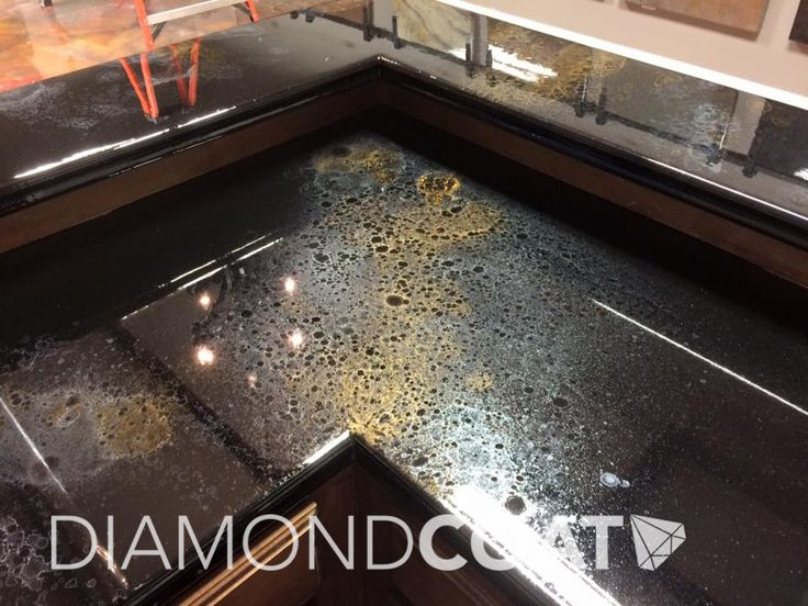 Sleek  unique Custom countertops with Countertop Epoxy
