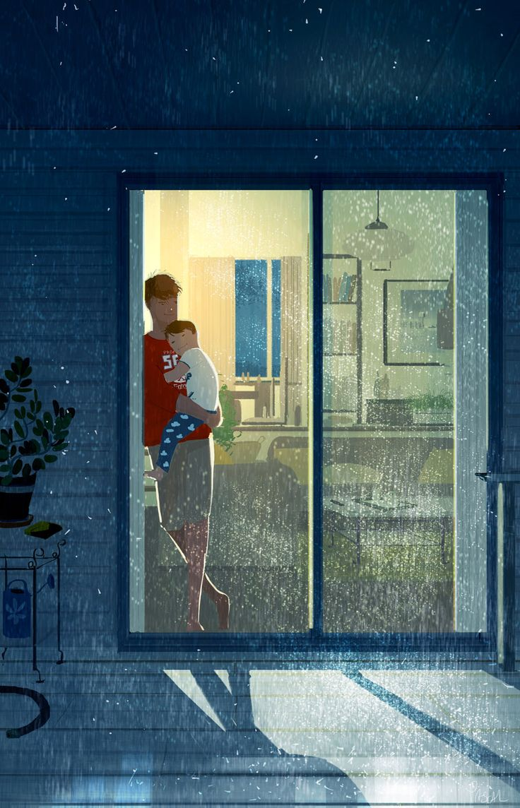 Awake at night When worries wake you up at night but your son comes and falls asleep in your arms. #pascalcampion