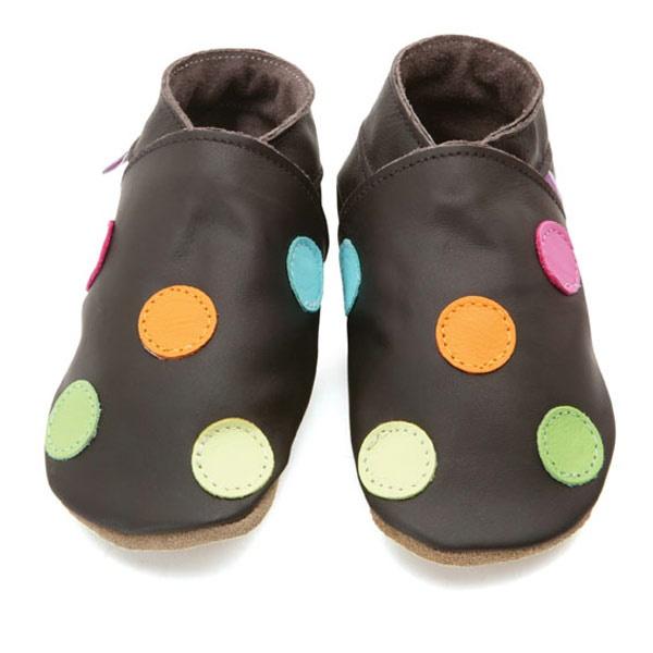 polka dot soft shoes