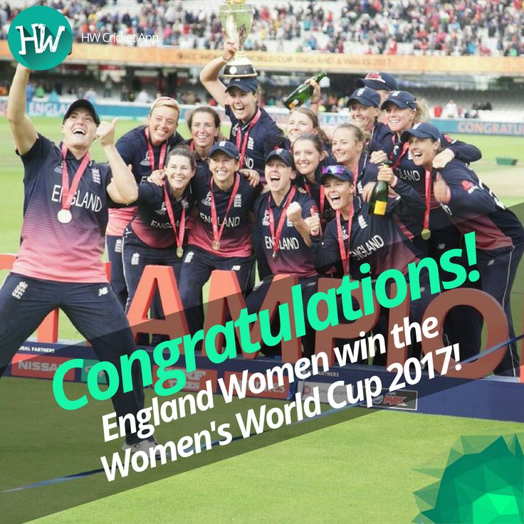Congratulations to England Women for a fantastic tournament and a hard-fought win! #WWC17 #ENGvIND #ENG #IND #cricket