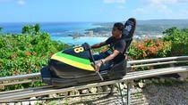 Experience true Jamaican bobsledding on this adventure from Montego BayNegril, Ocho Rios or Runaway Bay. Ride through the Jamaican rainforest on a warm-weather bobsled attached to a track. Buckle yourself in to enjoy the beautiful jungle scenery and the thrills on a ride honoring the famous 1988 Olympic bobsled team from Jamaica.