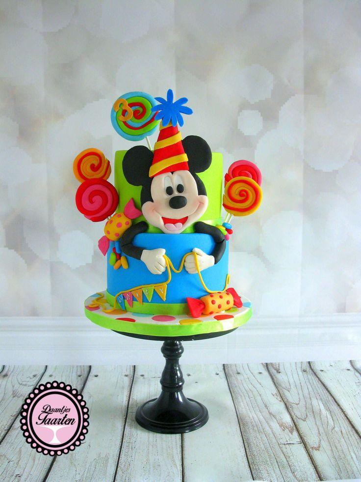 Kindertaart Mickey Mouse Boys Cake Pinterest Cake