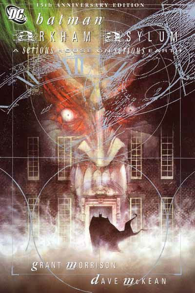 Arkham Asylum, published by DC. Find out more @ http://www.dccomics.com/graphic-novels/arkham-asylum-anniversary-edition