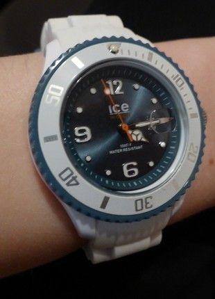 Kaufe meinen Artikel bei #Kleiderkreisel http://www.kleiderkreisel.de/accessoires/uhren/143301745-uhr-ice-watch-in-weiss-mit-blauem-ziffernblatt