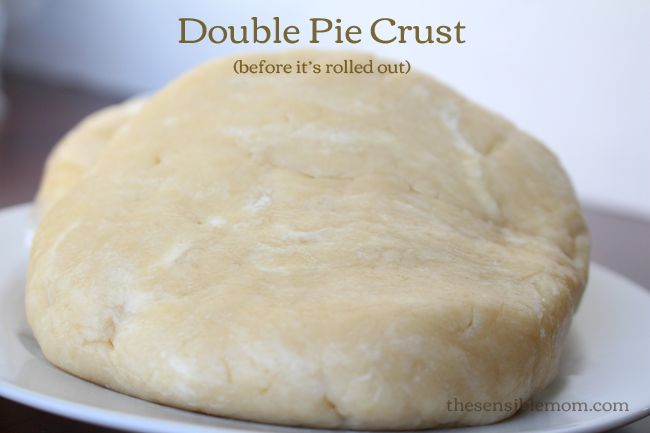 Recipe: Double Pie Crust - Perfect for Pies, especially apple pies! # ...
