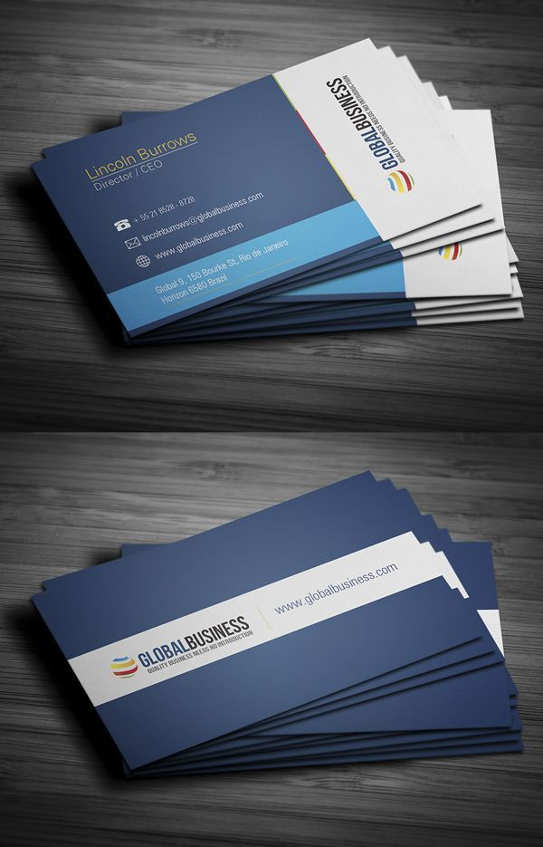 22 best business card template designs images on pinterest modern stylish business cards curated by rapid printing kelowna springfield road kelownabc reheart Image collections