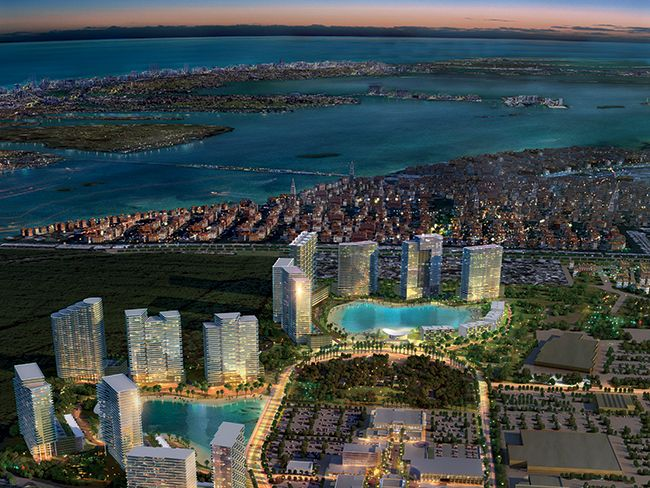 SoLe Mia Miami will include 4,390 residential units in 12 towers with opportunities for retail and entertainment when its completed.