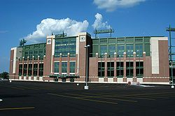Green Bay Packers - Stadium Miss going there.