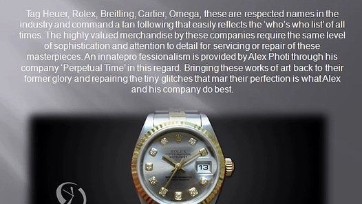 Perpetual Time is a professional watch maker and repairing company. To know more about company service read Perpetual Time Reviews online ( #perpetualtimereviews ).