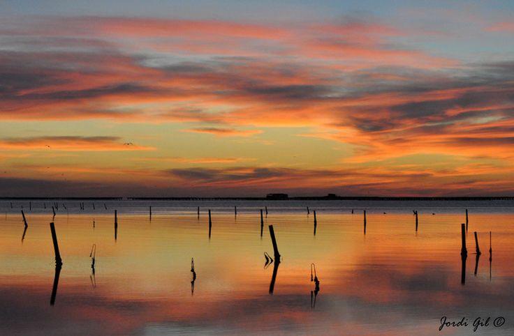 Espejos en el cielo. Delta del Ebro